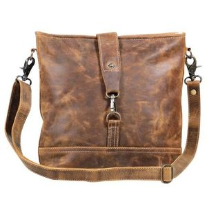 Myra Real Bliss Leather Shoulder Bag